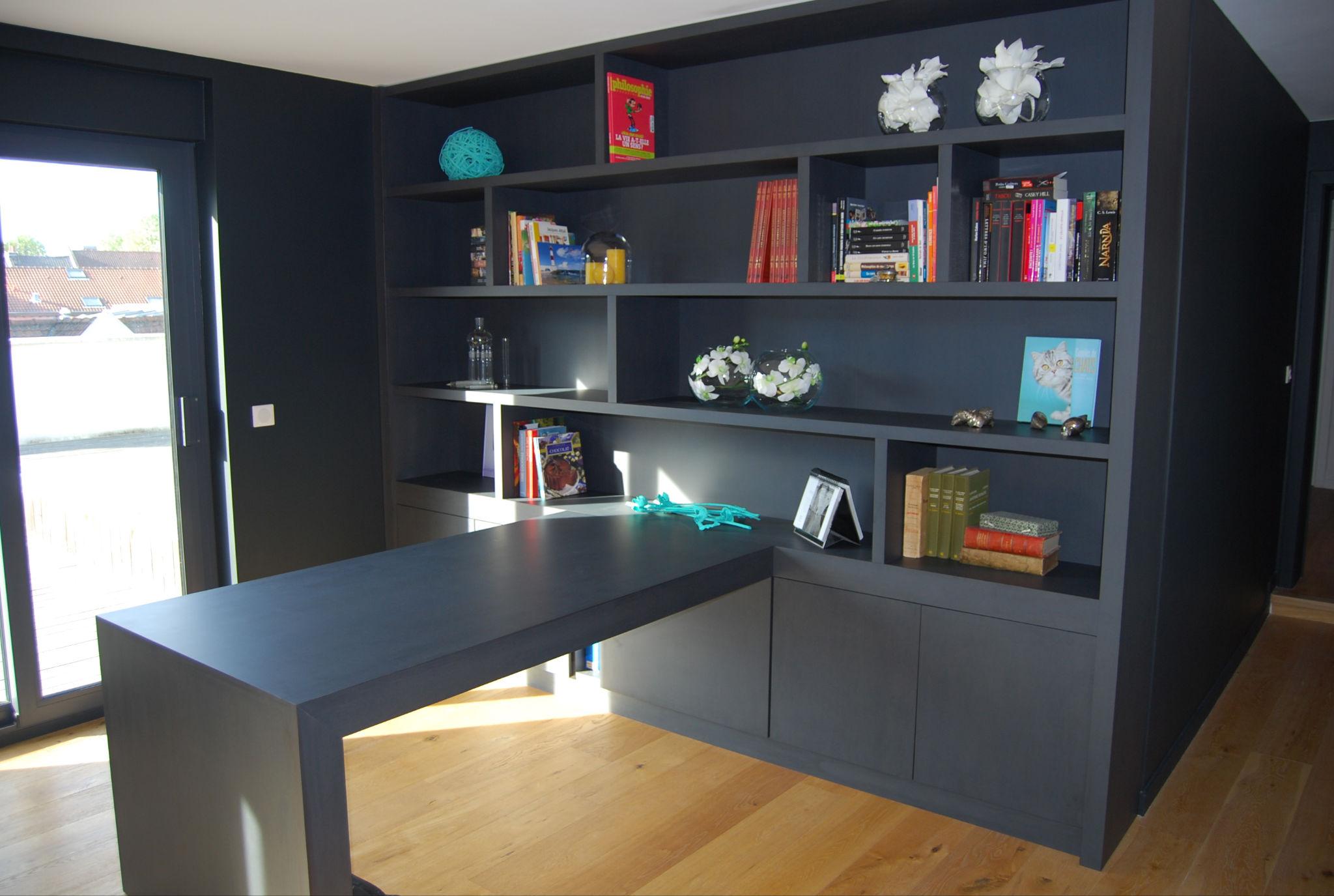 mobilier sur mesure amg agencement. Black Bedroom Furniture Sets. Home Design Ideas