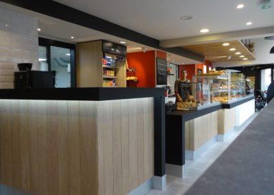 Concept mobilier pour une boulangerie