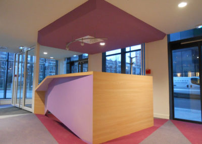 Banque accueil au siège de Radio France
