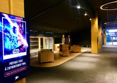 Espace accueil pour un cinéma Pathé en Belgique
