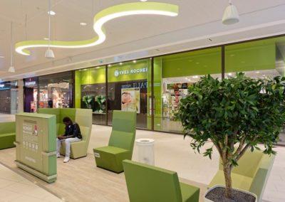 Déploiement mobilier centre commercial