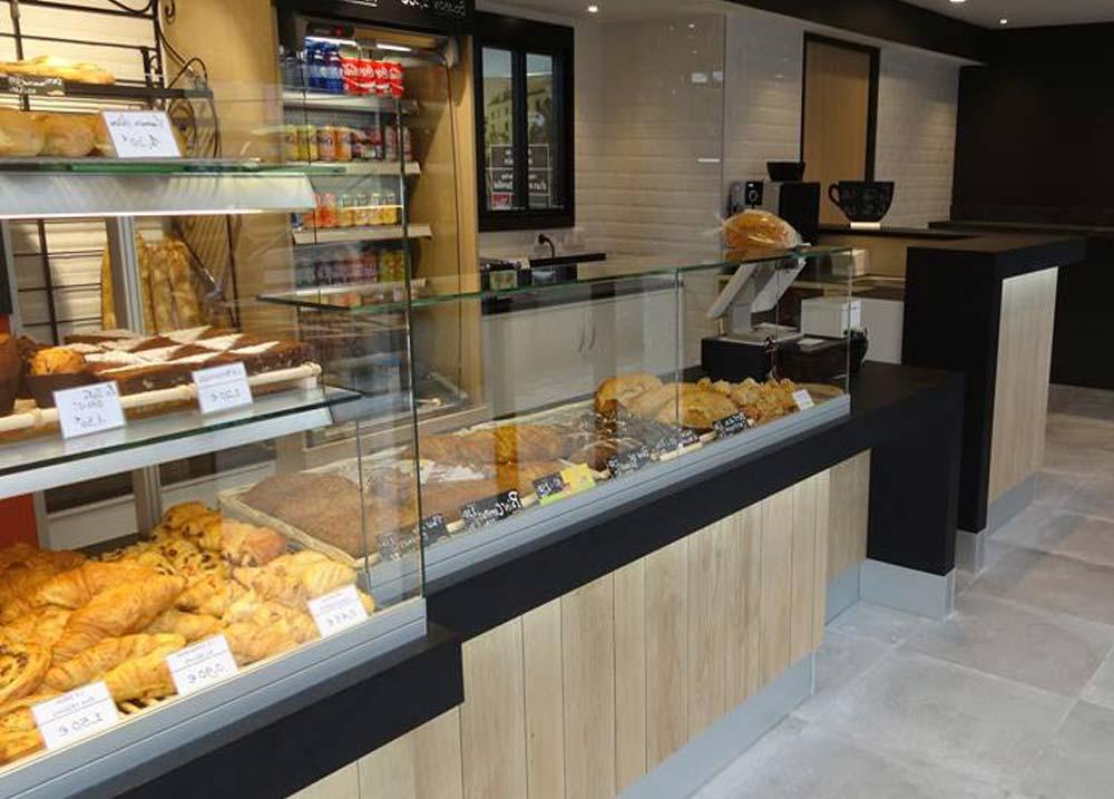 agencement d'une boulangerie dans le Nord