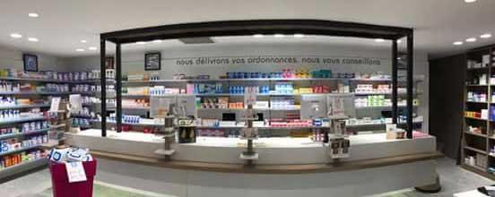 l'inox dans l'aménagement d'une pharmacie